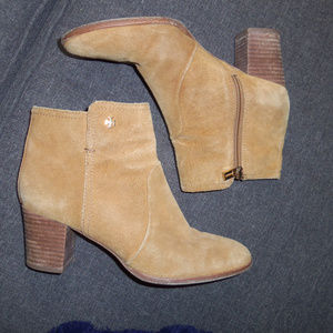 """Tory Burch """"Sabe"""" Suede Ankle Bootie 9"""